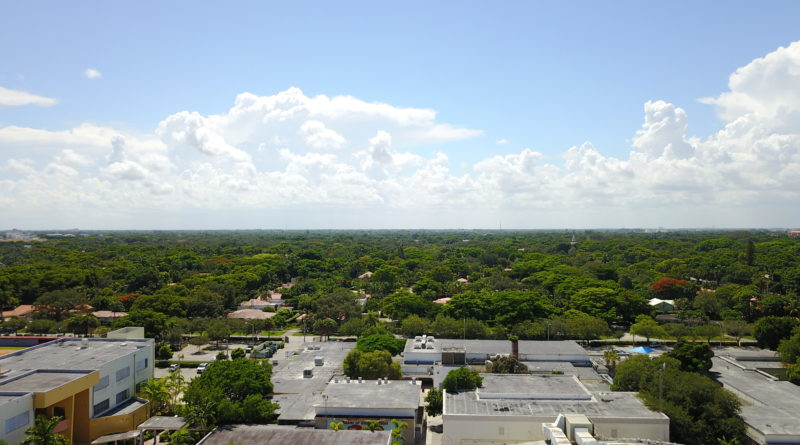 Penthouse Miami Coral Gables Aerial View