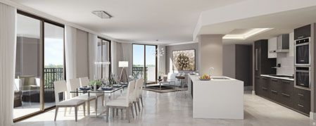 Image of Penthouse residence condo at Merrick Manor, Coral Gables, Florida