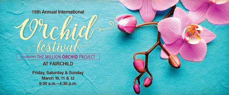 Fairchild Gardens Orchid Show