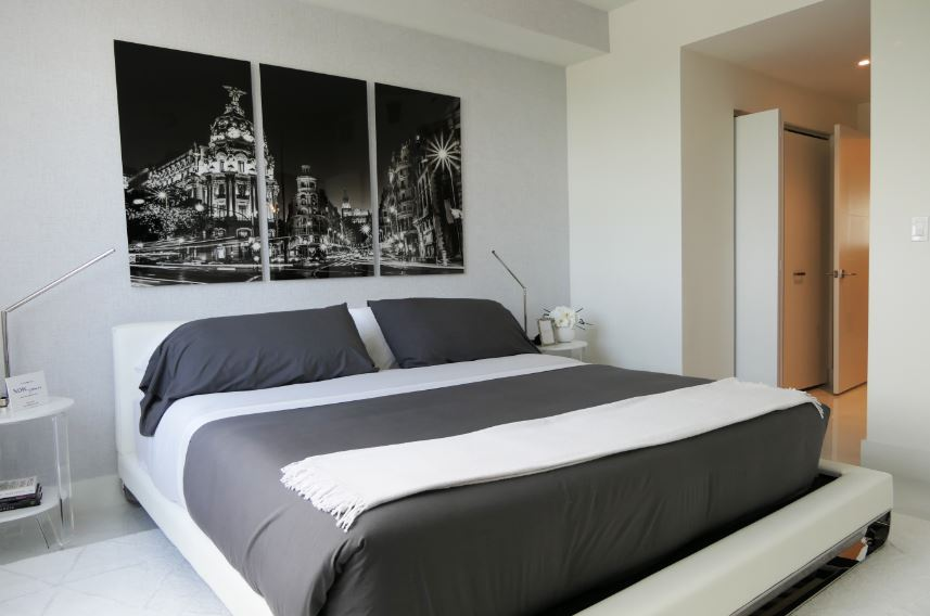 Spotlight Interiors By Steven G Designed And Furnished One Bedroom Ready For You To Call Home Merrick Manor
